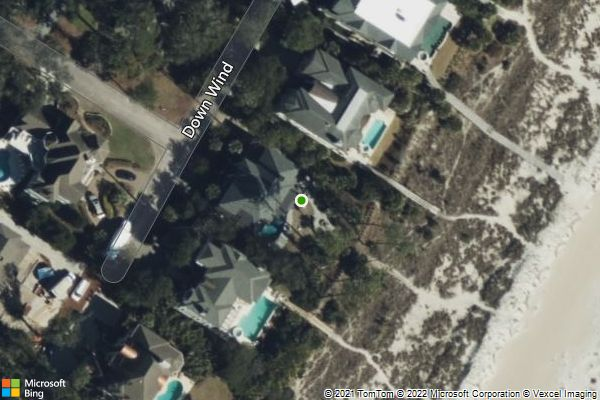 Aerial Map; Click for interactive map
